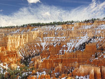 Bryce峡谷国家公园,犹他 图库摄影