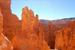bryce峡谷岩石 库存照片
