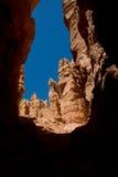 bryce峡谷构成的不祥之物 库存图片