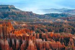 bryce峡谷点 库存照片