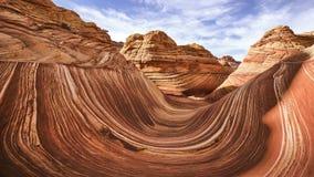 bryce峡谷看法在页亚利桑那-全景天空scenics的-自然2018年 免版税库存照片