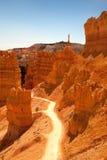 Bryce峡谷线索 库存图片