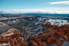 bryce峡谷美国 图库摄影