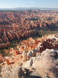 bryce峡谷风景 库存图片