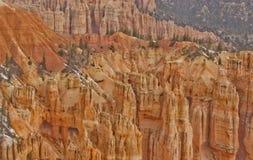 bryce εθνικό πάρκο Utah hoodoos φαραγγιών Στοκ Φωτογραφία