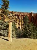 Национальный парк каньона Bryce, Юта, США стоковые изображения rf
