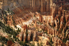 Bryce Amphitheater Royalty Free Stock Photos
