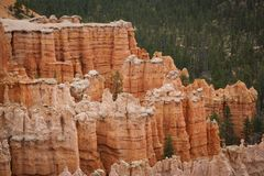 Bryce Canon Γιούτα Ηνωμένες Πολιτείες της Αμερικής στοκ εικόνα με δικαίωμα ελεύθερης χρήσης