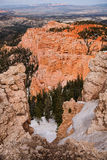 Bryce Canyon& x27; пункт радуги s Стоковое Изображение RF