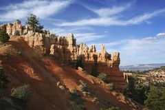 Bryce Canyon. Late afternoon light in Bryce Canyon National Park, Utah, USA Royalty Free Stock Image