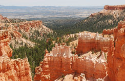 Bryce Canyon. Sandstone formations of Bryce Canyon, Utah, USA Stock Photos
