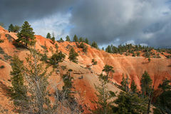 Bryce Canyon. Storm Clouds in Bryce Canyon National Park, Utah, USA Royalty Free Stock Image