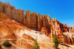 Bryce Canyon. Beautiful view of Bryce Canyon, Utah showing unique rock formations Royalty Free Stock Photography