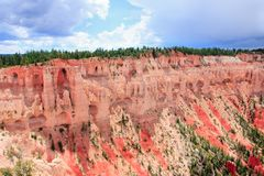 Bryce Canyon. Rock formation in Bryce Canyon National Park, Utah Stock Photo