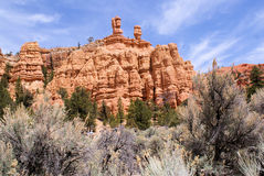 Bryce Canyon. Some of the vistas you can see as you travel to Bryce Canyon in Southern Utah Royalty Free Stock Images