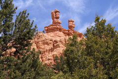 Bryce Canyon. Some of the vistas you can see as you travel to Bryce Canyon in Southern Utah Stock Photography