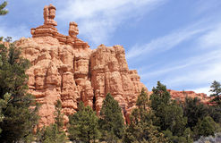 Bryce Canyon. Some of the vistas you can see as you travel to Bryce Canyon in Southern Utah Stock Images
