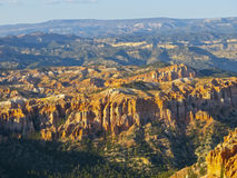 Bryce Canyon. The landscape view of the famous Bryce Canyon Royalty Free Stock Image