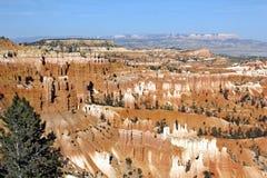 Bryce Canyon. A beautiful overlook at Bryce Canyon Royalty Free Stock Image