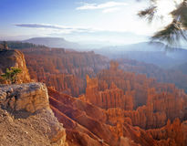 Bryce Canyon 4 (H). A horizontal image of the hoodoos of Bryce Canyon National Park located in Utah Stock Photos