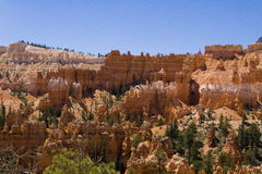 Bryce Canyon. A breathtaking view of the spires and hoodoos at Bryce canyon Stock Images
