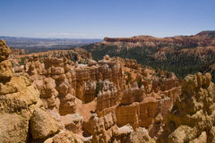 Bryce Canyon. View from Sunset lookout at Bryce Canyon National Park Royalty Free Stock Images