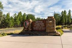 Bryce Canyon lizenzfreie stockfotos