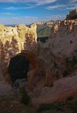 Bryce canyon. Rock formation in bryce canyon, natural bridge Stock Image