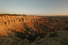 Bryce canyon. Rock formation in bryce canyon  utah Stock Photo