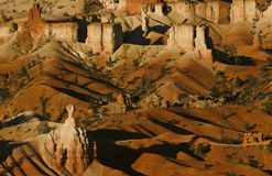 Bryce canyon. Rock formation and sand lanscapec in bryce canyon - usa Stock Photography