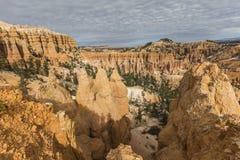 Bryce Canyon Afternoon Hoodoo View i sydliga Utah royaltyfria foton
