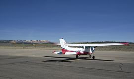 Bryce canyon airfield Stock Images