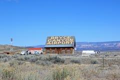 Bryce Canyon Airport, Utah stock afbeeldingen