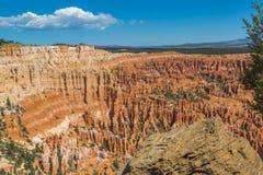 Bryce Canyon amfiteater Royaltyfria Foton