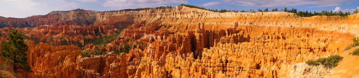 Bryce canyon amphitheater Stock Images