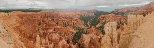 Bryce Canyon amphitheater panorama west USA utah Royalty Free Stock Image