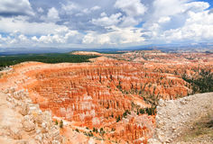 Bryce canyon amphitheater Royalty Free Stock Photo