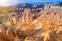 Bryce Canyon as Viewed From Sunrise Point at Bryce Canyon Nation Stock Images