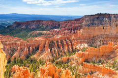 Bryce Canyon as Viewed From Sunrise Point at Bryce Canyon Nation Stock Image