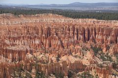 Bryce Canyon 03. Bryce Canyon and beyond Royalty Free Stock Images