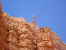 Bryce canyon crag Stock Image