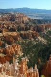 Bryce Canyon em um céu azul Imagens de Stock Royalty Free