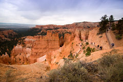 Bryce canyon. A gem of American national parks Stock Photography