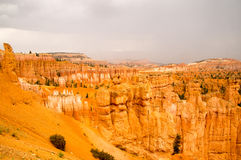 Bryce Canyon glows after the Summer rain. Bryce Canyon National Park, Utah USA after the storm Stock Photography