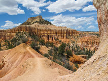 Bryce Canyon Hike Royalty Free Stock Photos