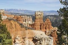 Bryce Canyon Hoodoo Formations Royalty Free Stock Photos