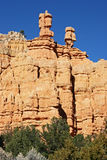 Bryce Canyon Hoodoos. The fantastic hoodoos of Bryce Canyon National Park Royalty Free Stock Photos