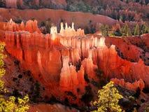 Bryce Canyon Hoodoos, Landscape Sunrise  Royalty Free Stock Images