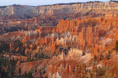 Bryce Canyon. Hoodoos rock formation in Bryce Canyon National Park Stock Image