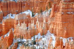 Bryce Canyon II. Bryce Canyon National park in spring, Utah, US Stock Photo
